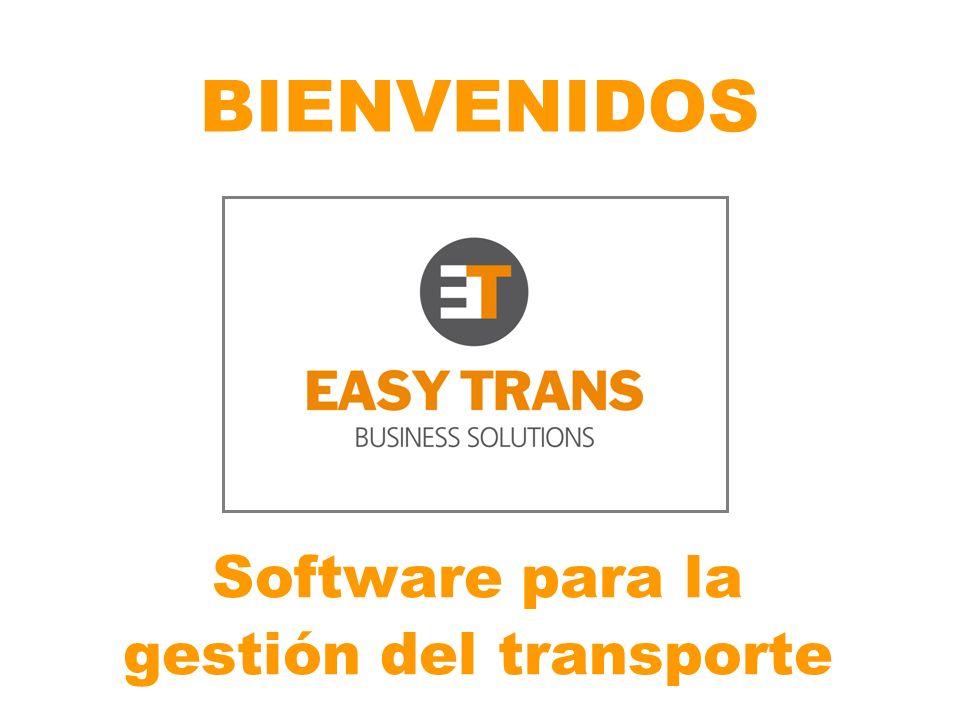 BIENVENIDOS Software para la gestión del transporte