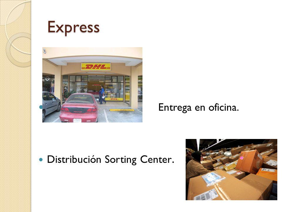 Express Asignación de un número de control llamado guía.