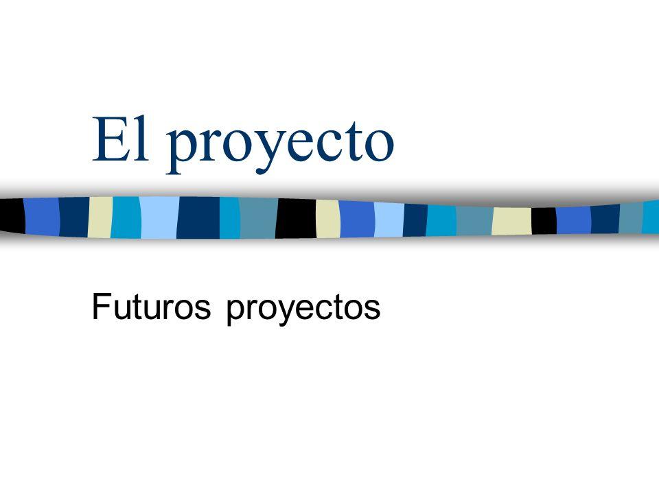 El proyecto Futuros proyectos