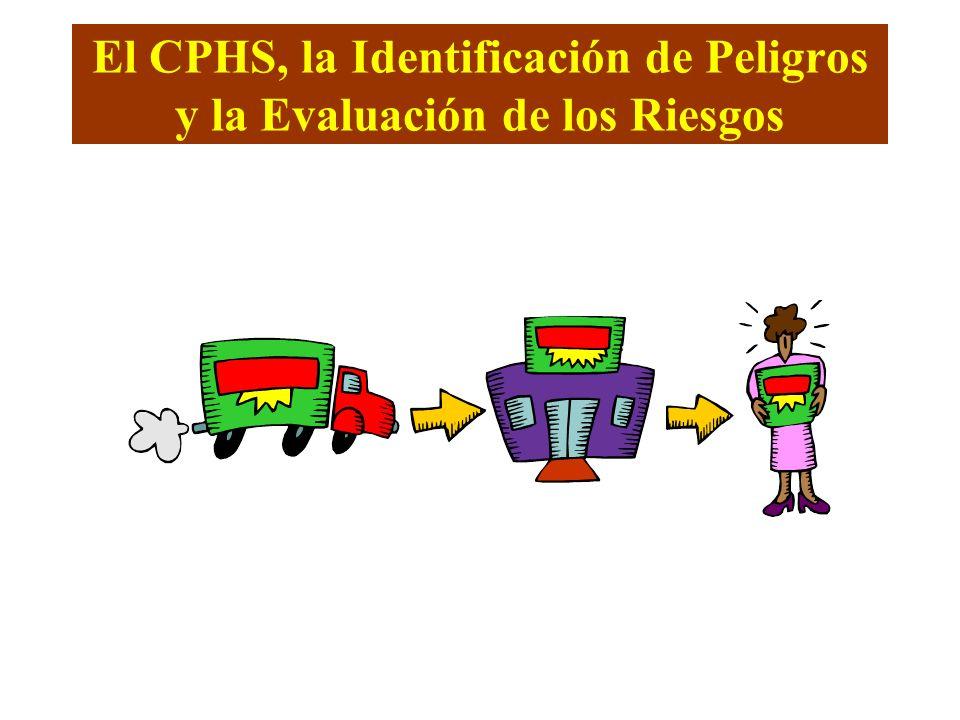 El CPHS, la Identificación de Peligros y la Evaluación de los Riesgos