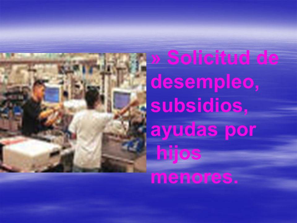 » Solicitud de pensiones (Jubilación, invalidez, viudedad) Pensión sin cotizar.