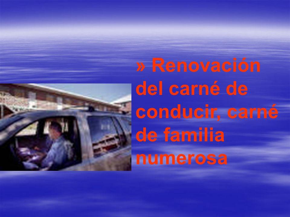 »Licencias de pesca y caza - permisos de armas – certificados de penales.