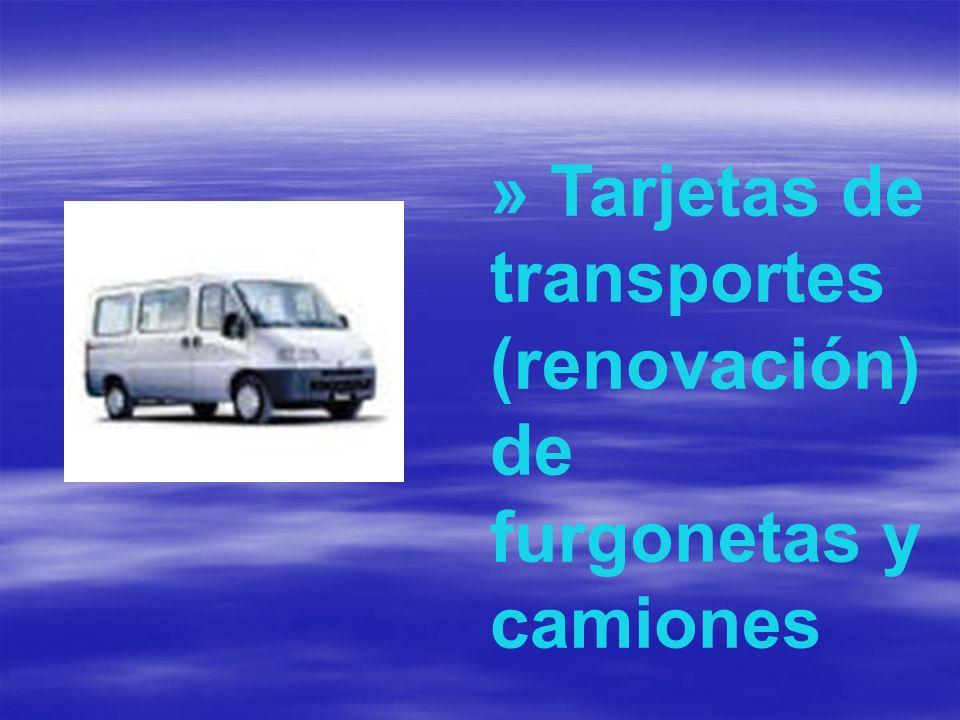 » Transferencias de vehículos, licencias de ciclomotores, bajas de vehículos, matriculaciones, alta de remolques, tractores.