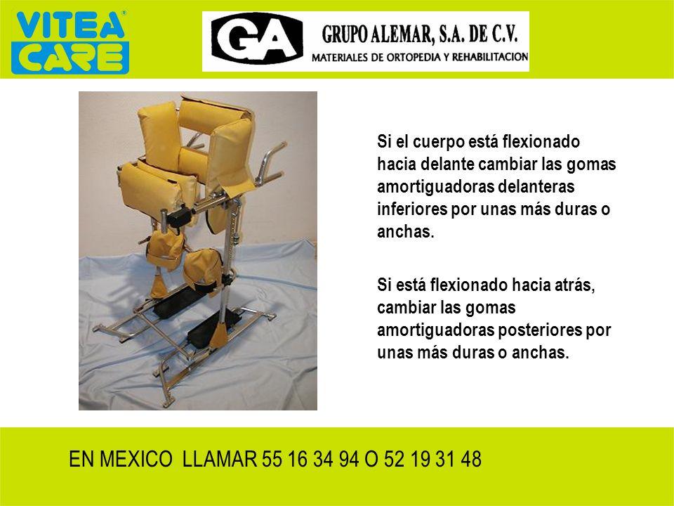 Comprobar centro de gravedad respecto a los ejes de la articulación- soporte del corsé EN MEXICO LLAMAR 55 16 34 94 O 52 19 31 48