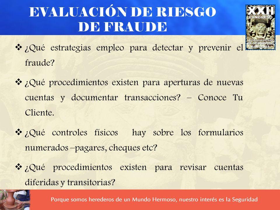CUANDO INFORMAR A LA POLICÍA Cuando están seguros que los documentos son fraudulentos Cuando no cabe duda que la transacción es fraudulenta y han identificado correctamente a los perpretadores.