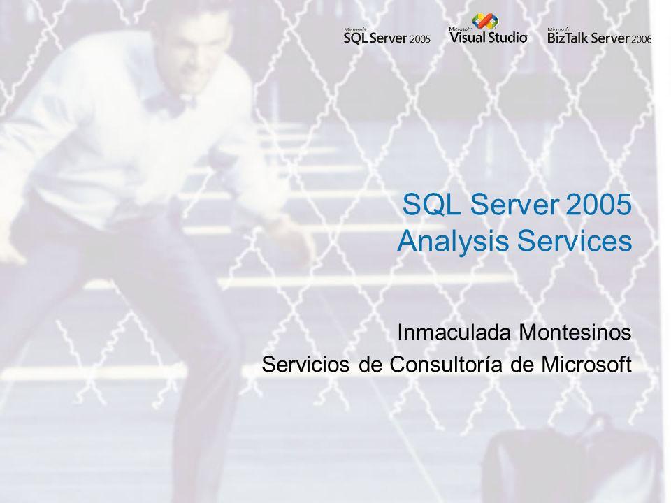 Inmaculada Montesinos Servicios de Consultoría de Microsoft SQL Server 2005 Analysis Services