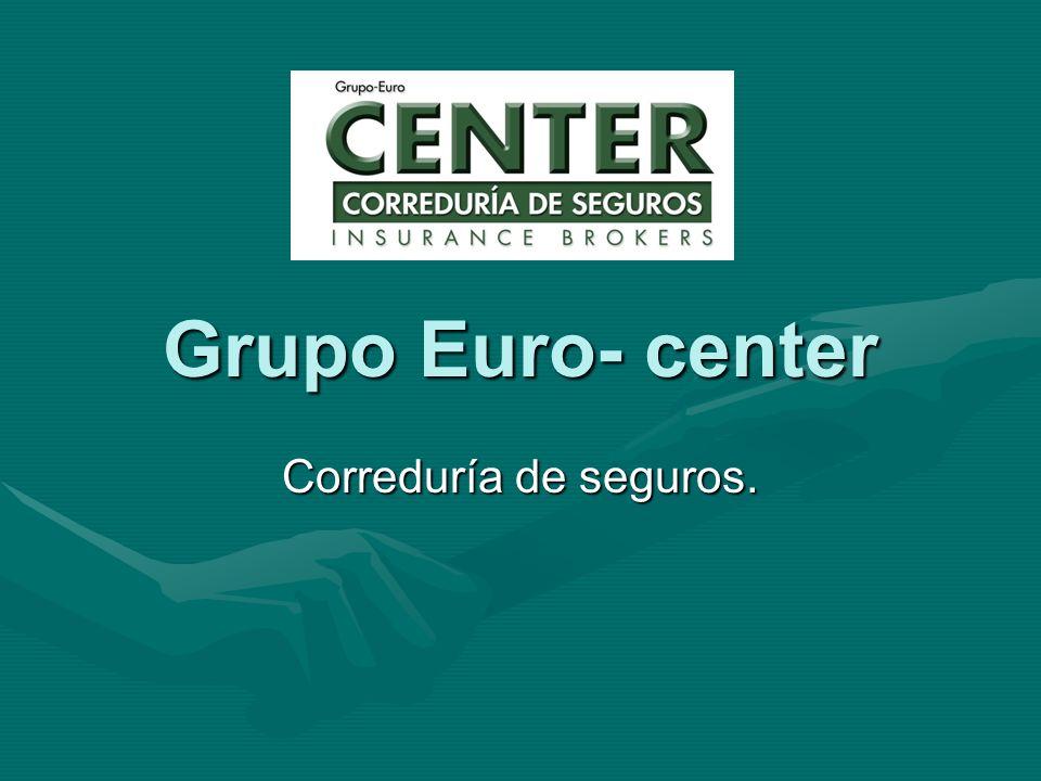Grupo Euro- center Correduría de seguros.