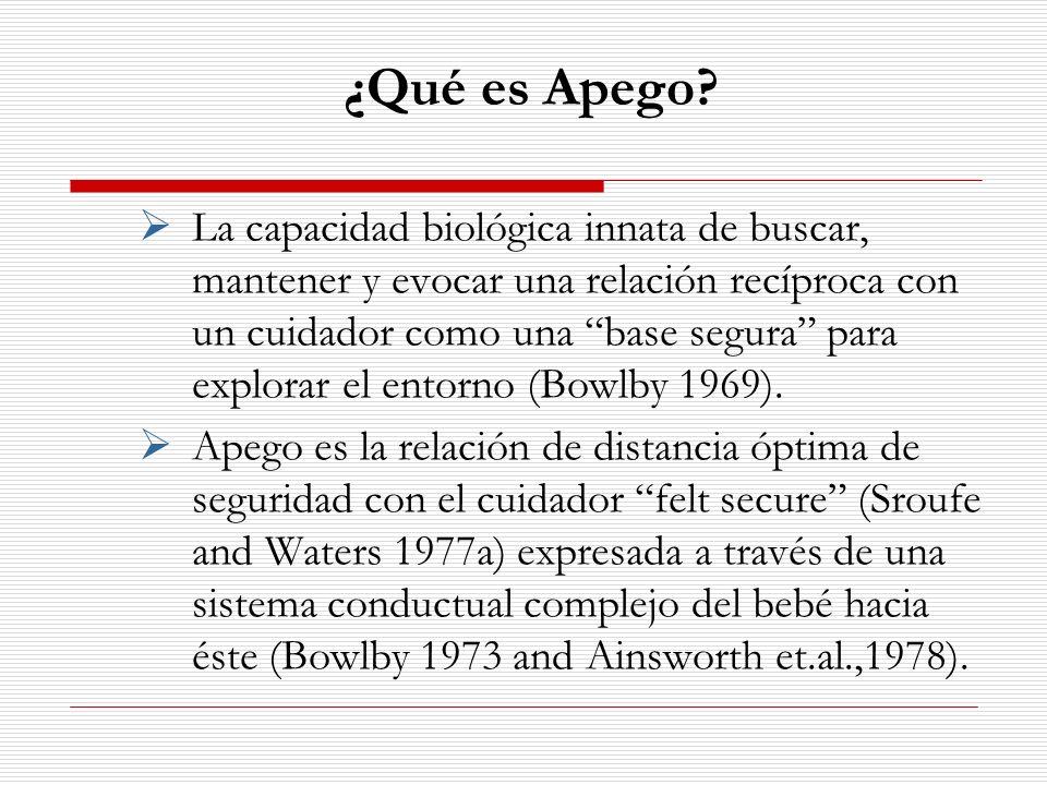 Trauma en el bebé La categoría D, desorganizado/desorientado debido a trauma, es la más estable con respecto al tiempo encontrándose una relación entre el bebé desorganizado y la disociación en la adolescencia (Carlson 1998, Main & Hesse 2000).