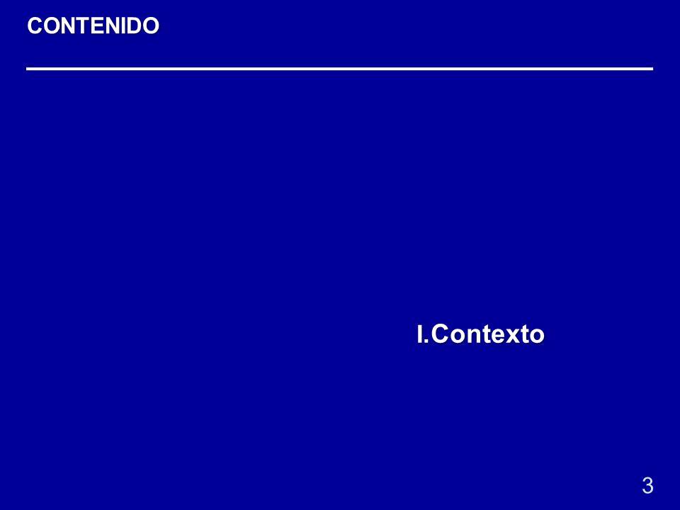 I. Contexto 3 CONTENIDO