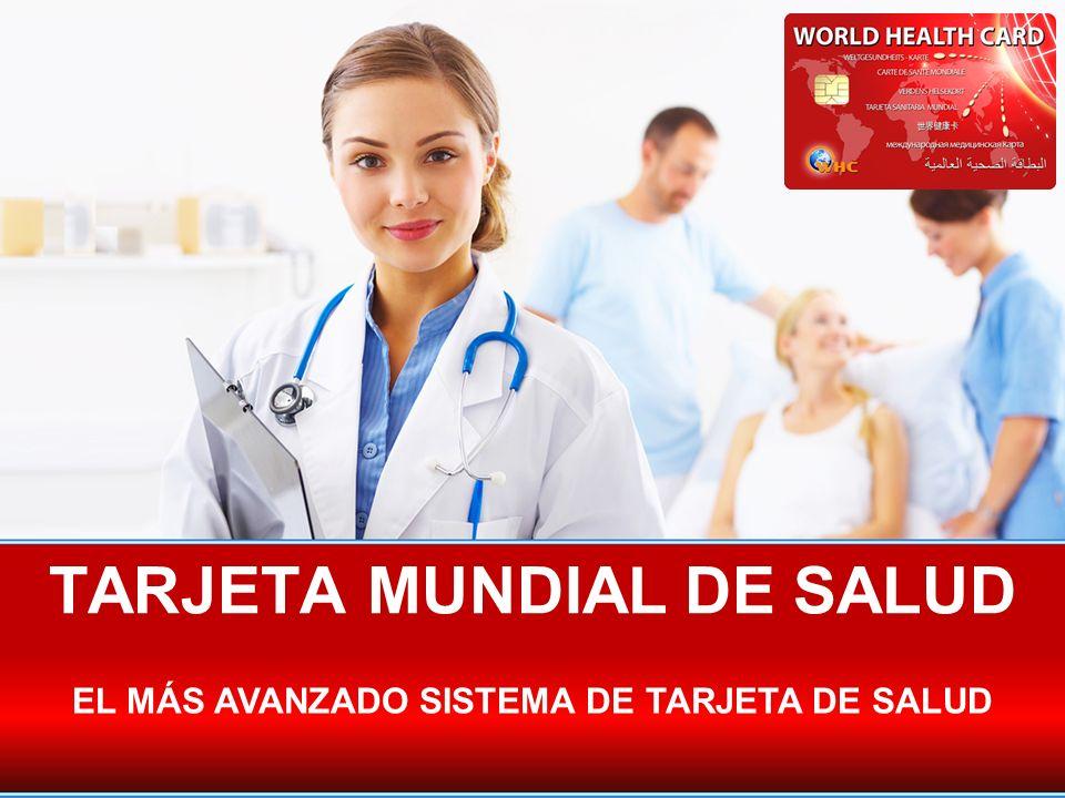 THE SYSTEM ¿Qué es una tarjeta Mundial de salud.