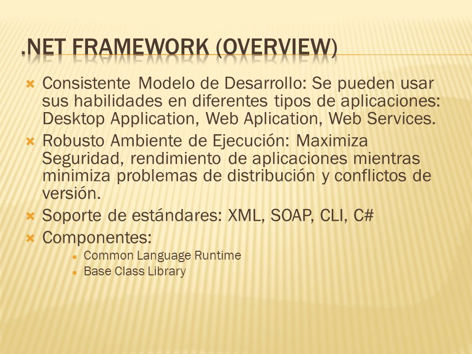 ASP.NET System.Web Configuration SessionState Caching Security Services Description Discovery Protocols UI HtmlControls WebControls