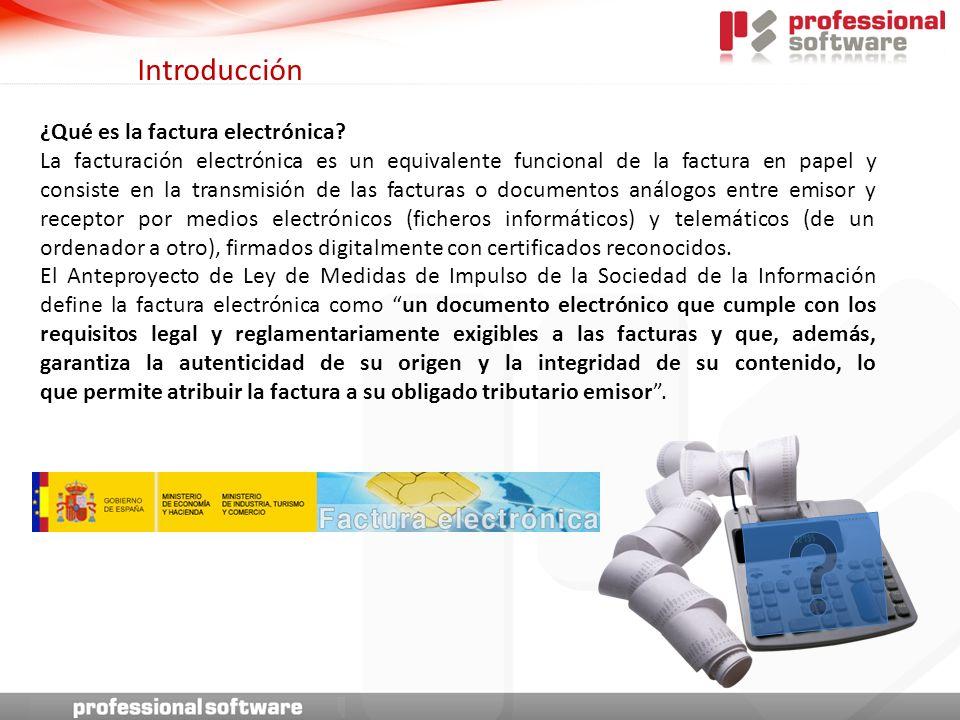 Introducción ¿Qué es la factura electrónica.