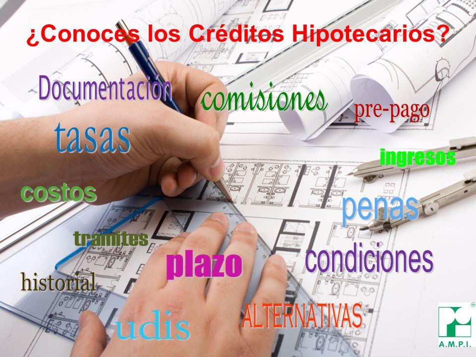 ¿Conoces los Créditos Hipotecarios