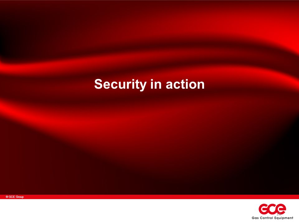 © GCE Group Security in action 16