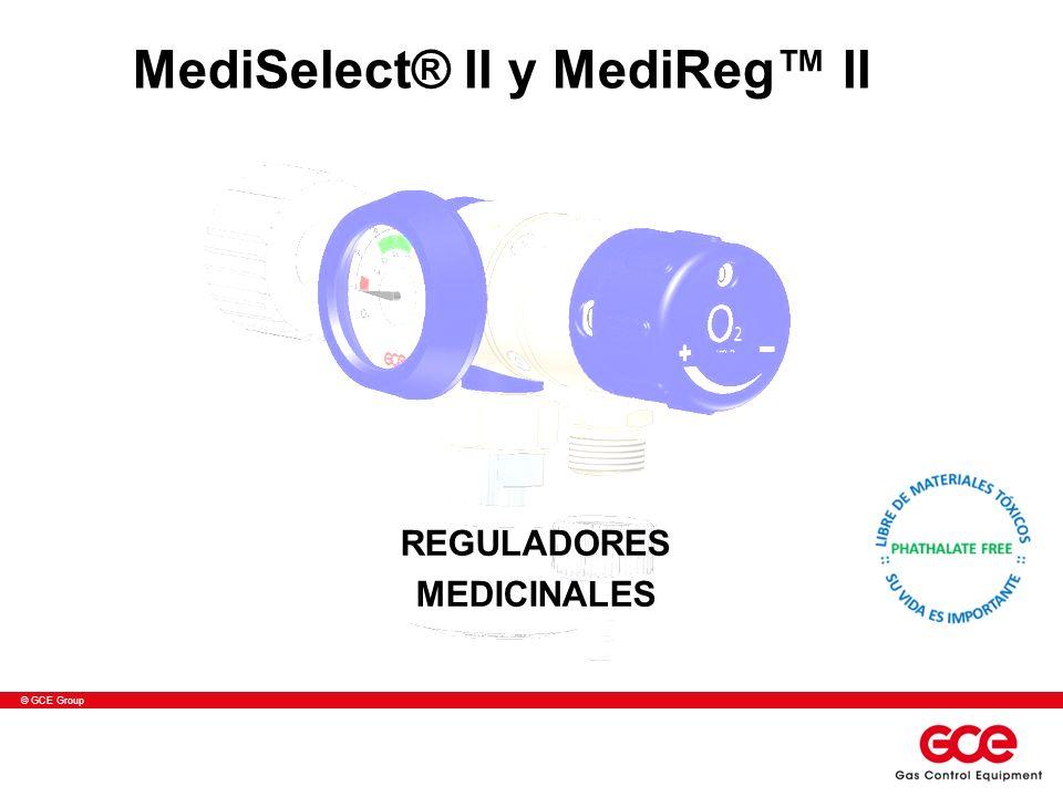 © GCE Group MediSelect® II y MediReg II REGULADORES MEDICINALES