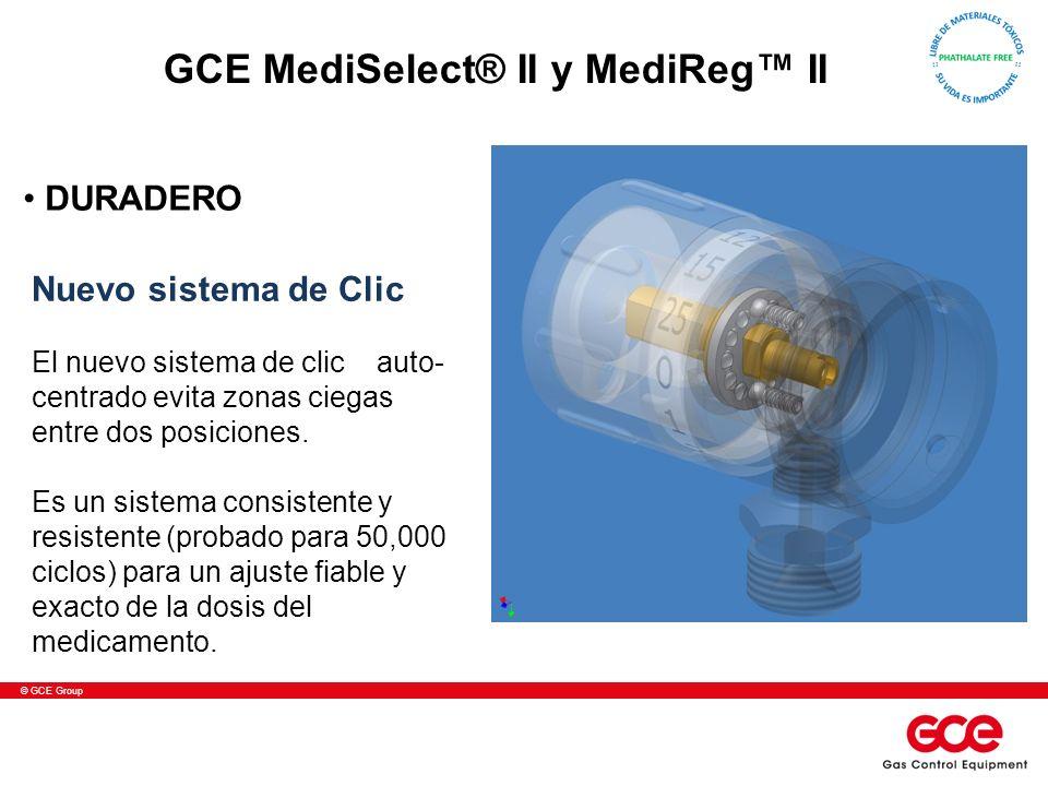 © GCE Group Nuevo sistema de Clic El nuevo sistema de clic auto- centrado evita zonas ciegas entre dos posiciones. Es un sistema consistente y resiste
