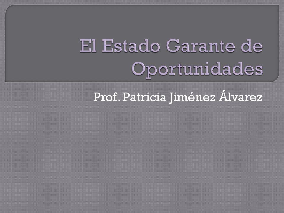 Prof. Patricia Jiménez Álvarez