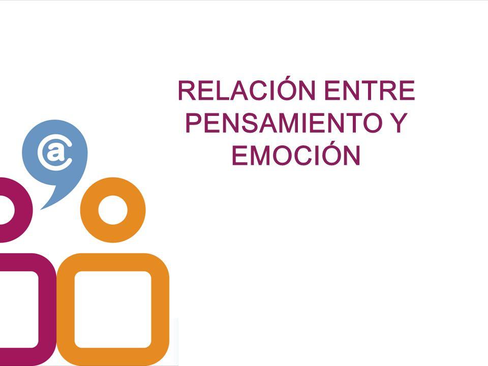 RELACIÓN ENTRE PENSAMIENTO Y EMOCIÓN