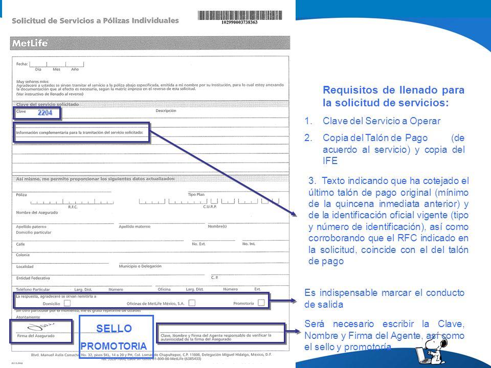 3. Texto indicando que ha cotejado el último talón de pago original (mínimo de la quincena inmediata anterior) y de la identificación oficial vigente