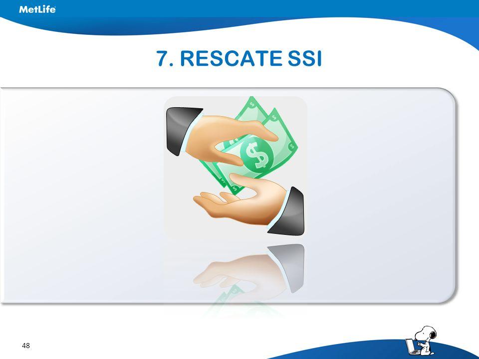 48 7. RESCATE SSI