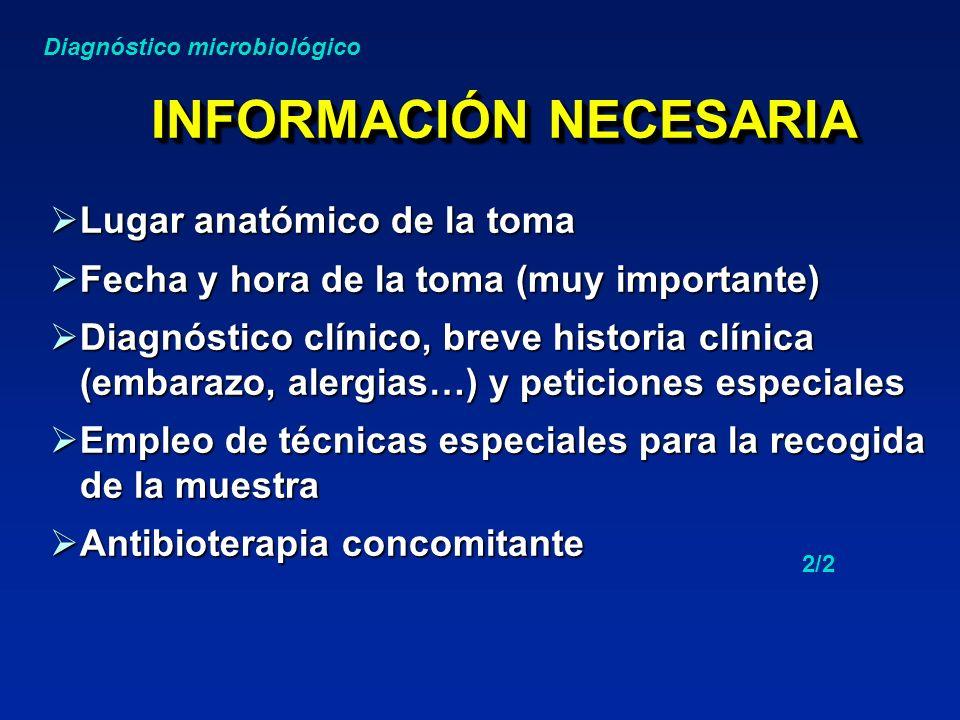 ETIQUETADO DE LOS SISTEMAS DE TRANSPORTE Nombre del paciente.......................................