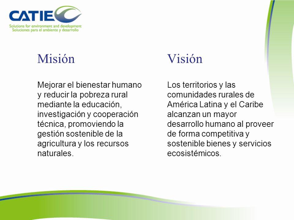 Comisión de RSI CATIE cuenta con una política de Responsabilidad Social Institucional (RSI) y promueve actividades de voluntariado.