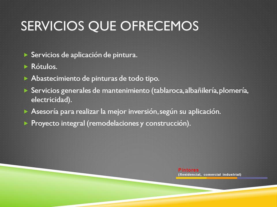 CONTACTO Pintores (Residencial, comercial industrial) Teléfono: 411 39 87 Celular: 044 442 187 1951 ID: 52*39528*11 banilozano@gmail.com bani.lozano@facebook.com ING.