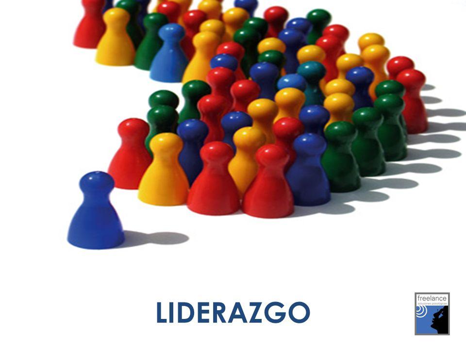 Liderazgo es el proceso de influir en otros y apoyarlos para que trabajen con entusiasmo en el logro de objetivos comunes.