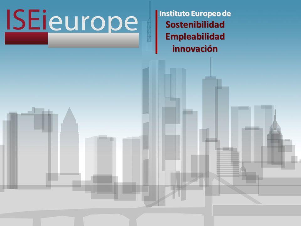 Instituto Europeo de Sostenibilidad Empleabilidad innovación