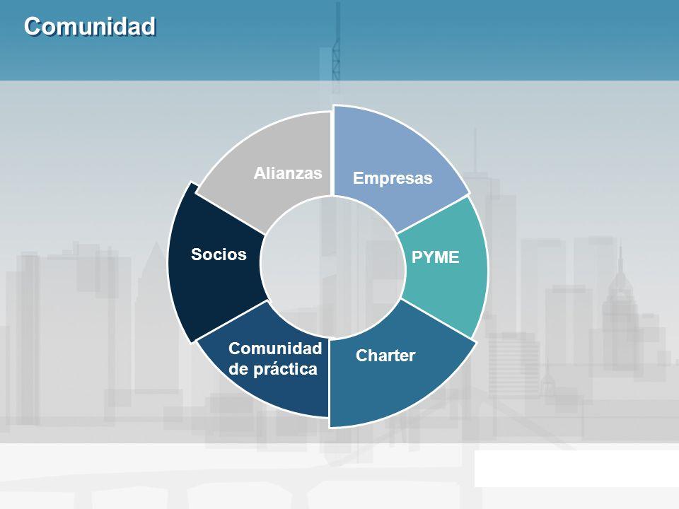 Comunidad Empresas PYME Charter Comunidad de práctica Socios Alianzas