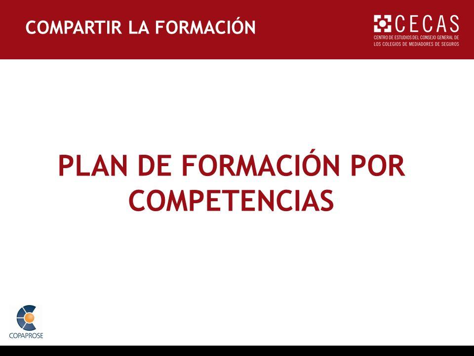 PLAN DE FORMACIÓN POR COMPETENCIAS COMPARTIR LA FORMACIÓN
