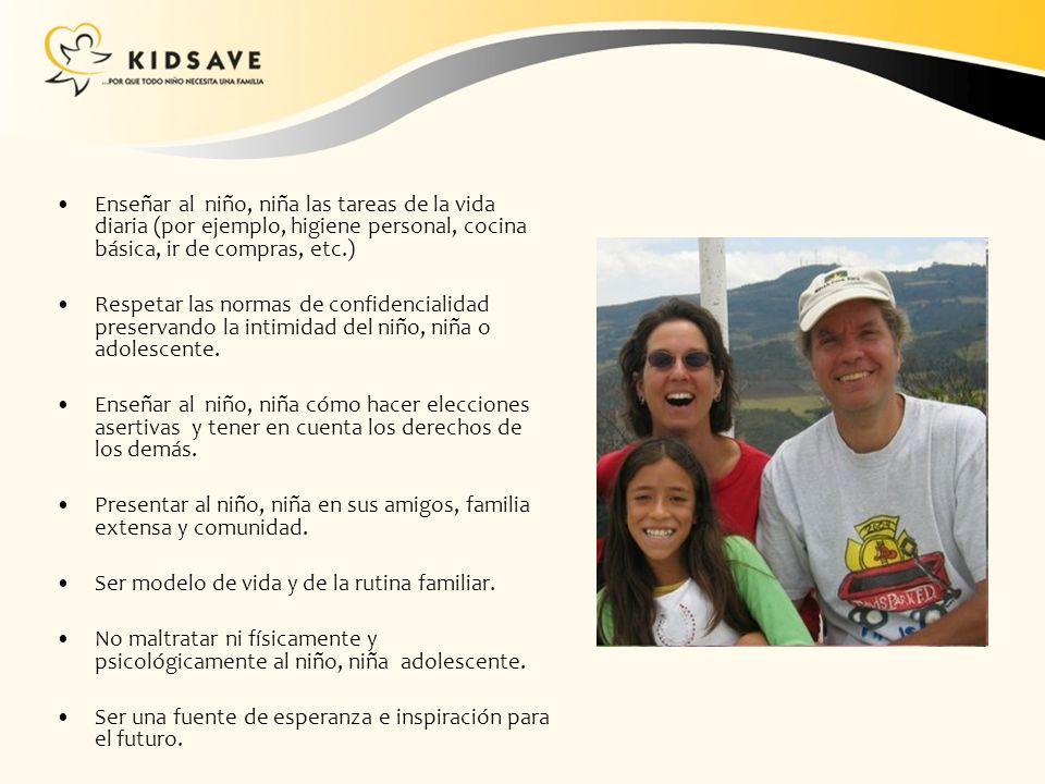 El sueño de Kidsave es que todos los niños, niñas y jóvenes tengan la oportunidad de crecer y vivir en una familia sino puede ser biológica esperamos que puedan encontrar familias acogedoras o mentoras Randi Thompson CEO Kidsav e