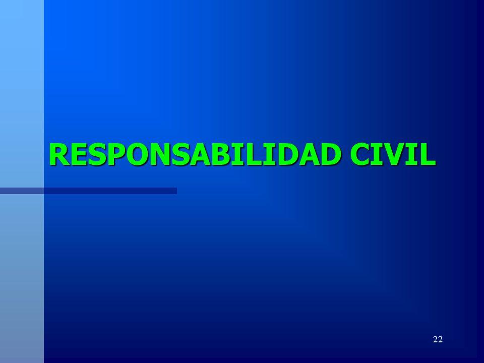 22 RESPONSABILIDAD CIVIL