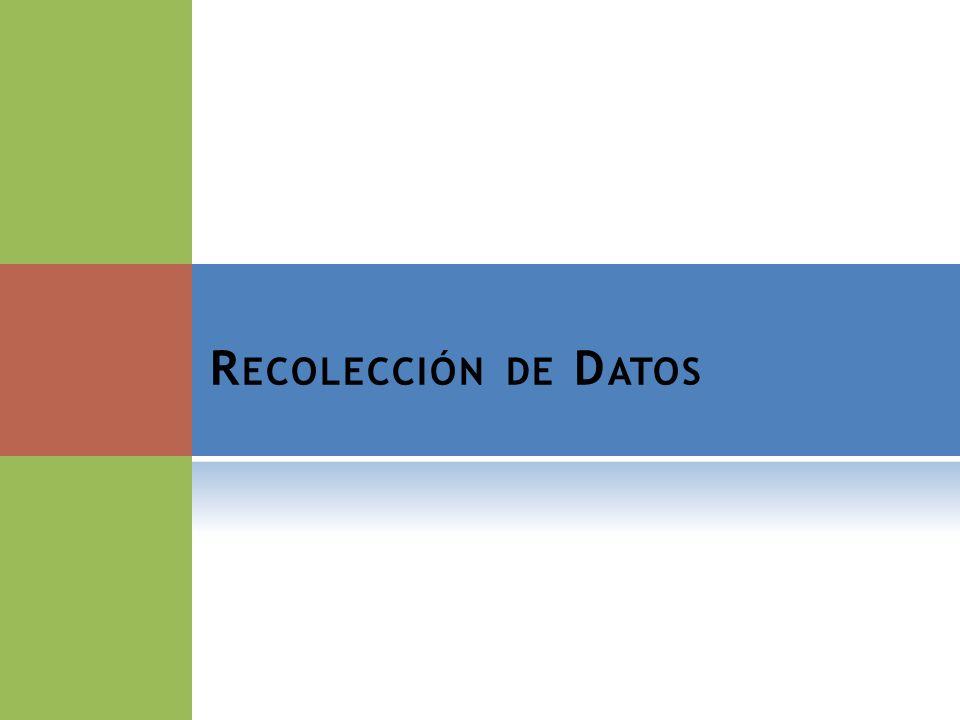 S ELECCIÓN DE E NCUESTADORES 10
