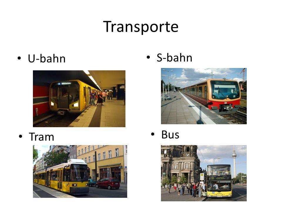 Transporte U-bahn S-bahn Tram Bus
