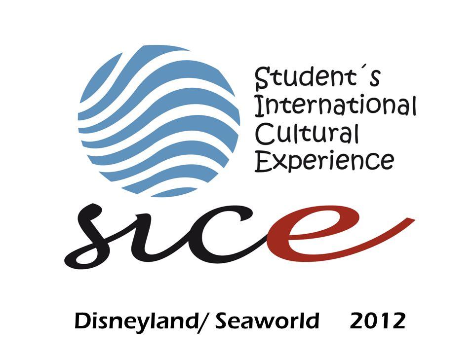 Disneyland/ Seaworld 2012
