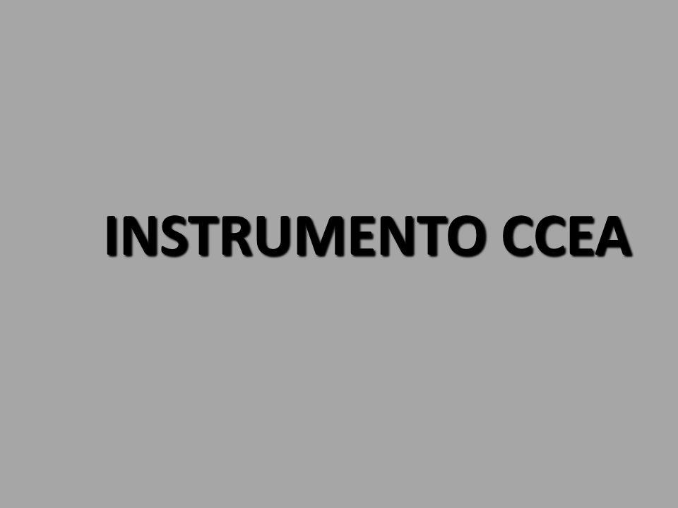 INSTRUMENTO CEEA A.- BANDA NARANJA B.- MARCAS EN CENTÍMETROS C.- EJE DEL INSTRUMENTO.