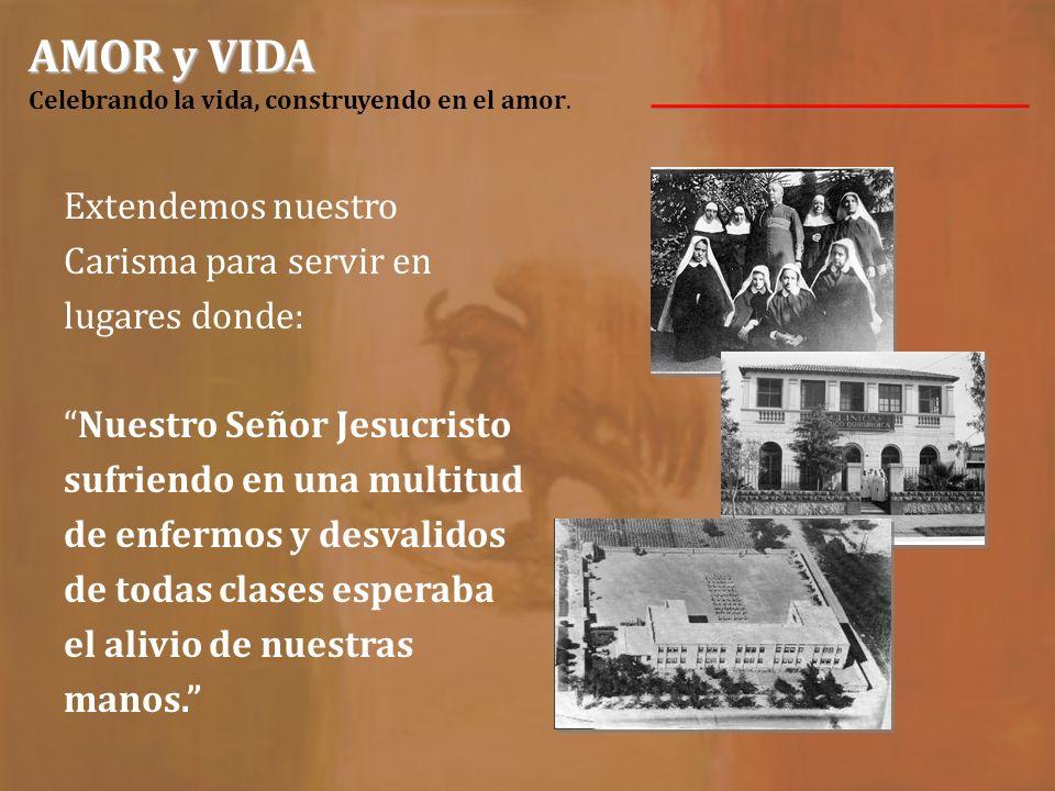 AMOR y VIDA AMOR y VIDA Celebrando la vida, construyendo en el amor. SALUD En la primavera de1890 se abre el Hospicio Ortigosa en Monterrey, N.L.