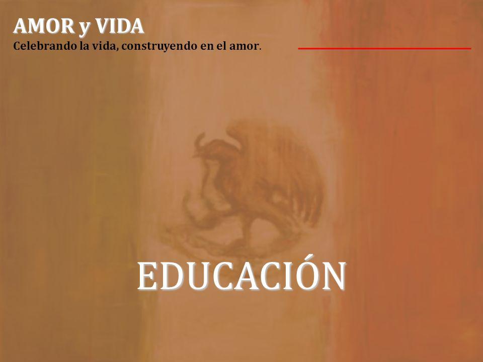 Damos gracias al Verbo Encarnado por los inicios de la primera misión CCVI en México. AMOR y VIDA AMOR y VIDA Celebrando la vida, construyendo en el a