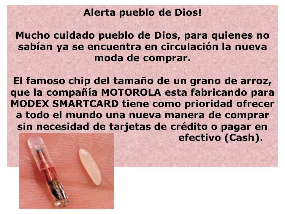 Alerta pueblo de Dios.