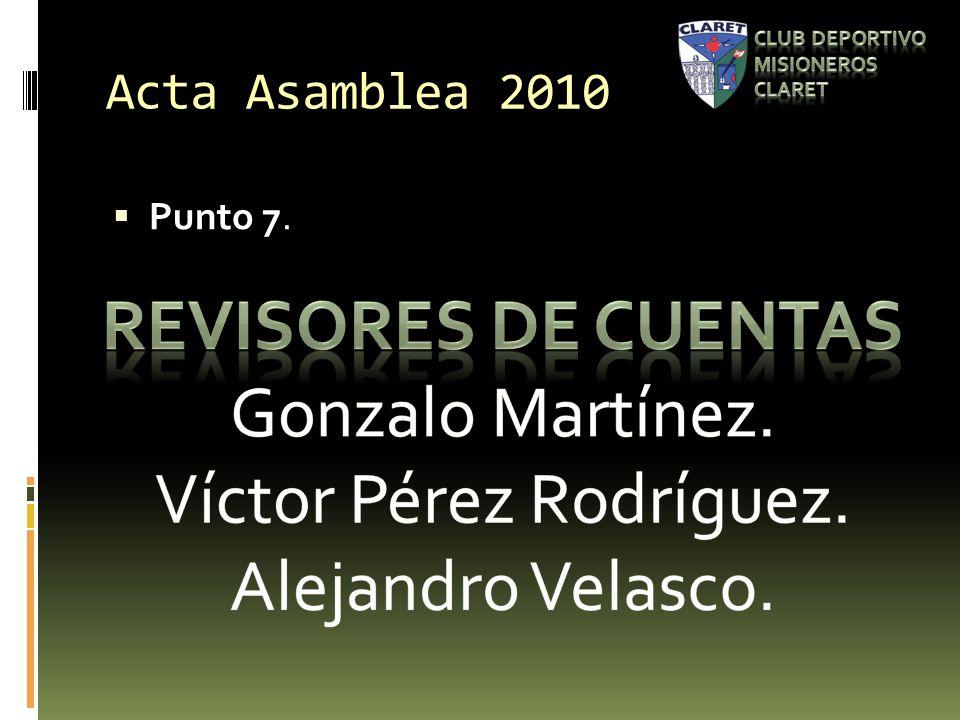 Acta Asamblea 2010 Punto 7.