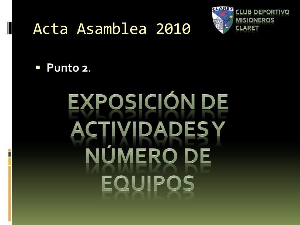 Acta Asamblea 2010 Punto 2.