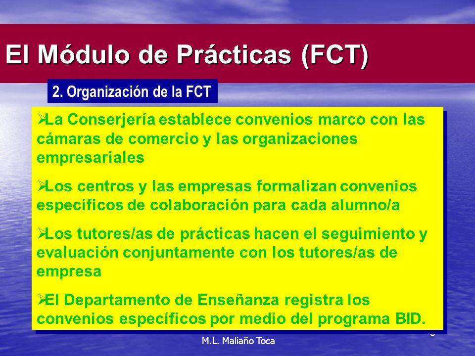 6 El Módulo de Prácticas (FCT) 2.