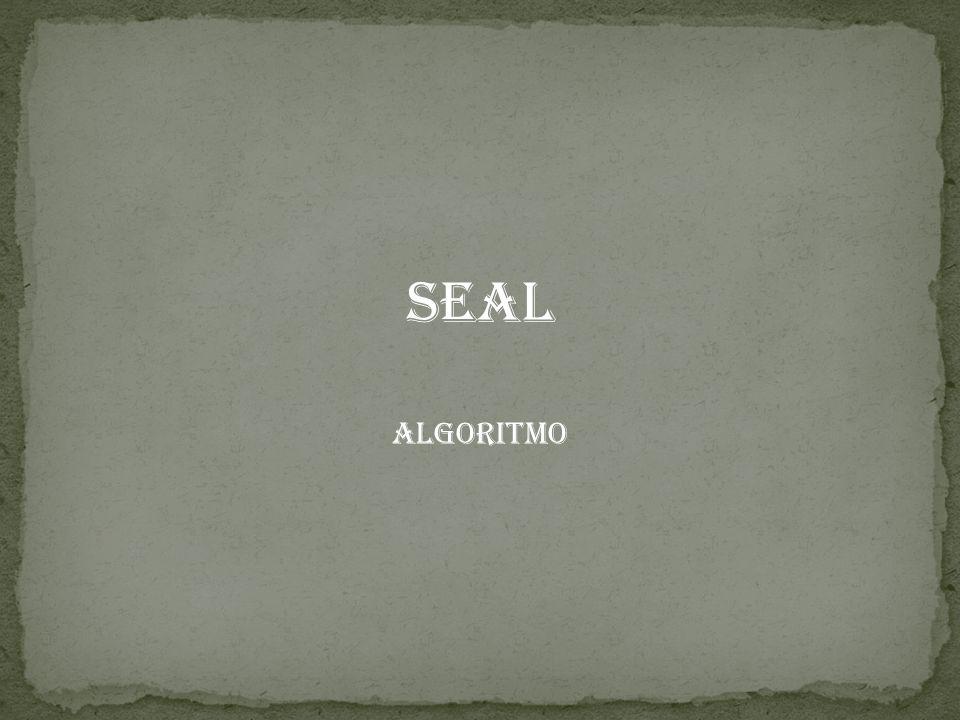 SEAL Algoritmo