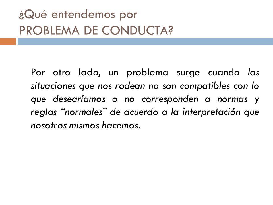 3.Conducta Disruptiva.