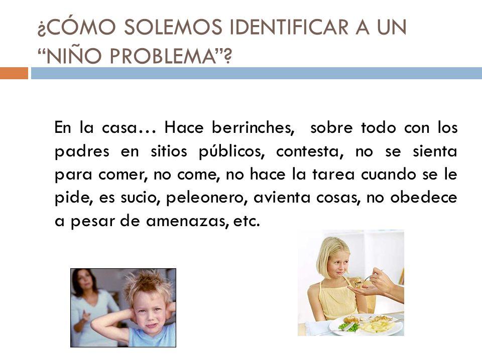 Lecturas recomendadas Problemas de la conducta y emociones en el niño normal.