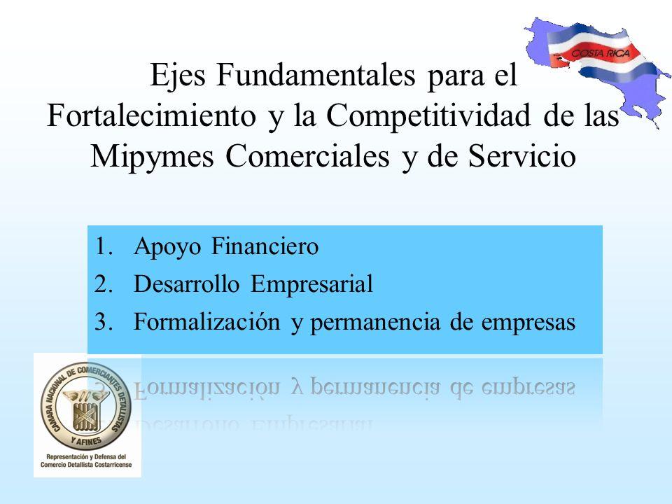 Ejes Fundamentales para el Fortalecimiento y la Competitividad de las Mipymes Comerciales y de Servicio