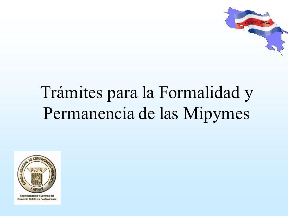 Trámites para la Formalidad y Permanencia de las Mipymes