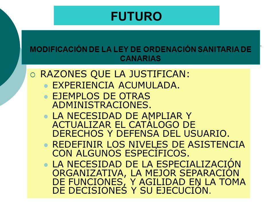 DISFUNCIONALIDADES ACTUALES FALTA DE DEFINICIÓN Y DE SEPARACIÓN DE LAS FUNCIONES DE REGULACIÓN (ORDENACIÓN, PLANIFICACIÓN, FINANCIACIÓN…), DE COMPRA DE SERVICIOS SANITARIOS Y DE PROVISIÓN.