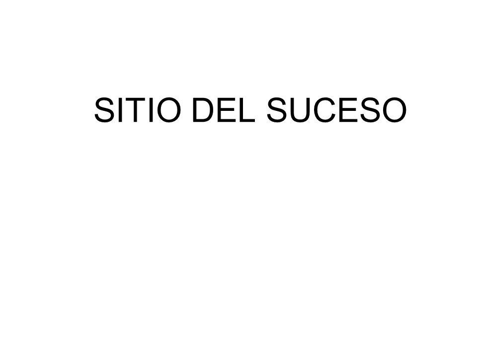 SITIO DEL SUCESO